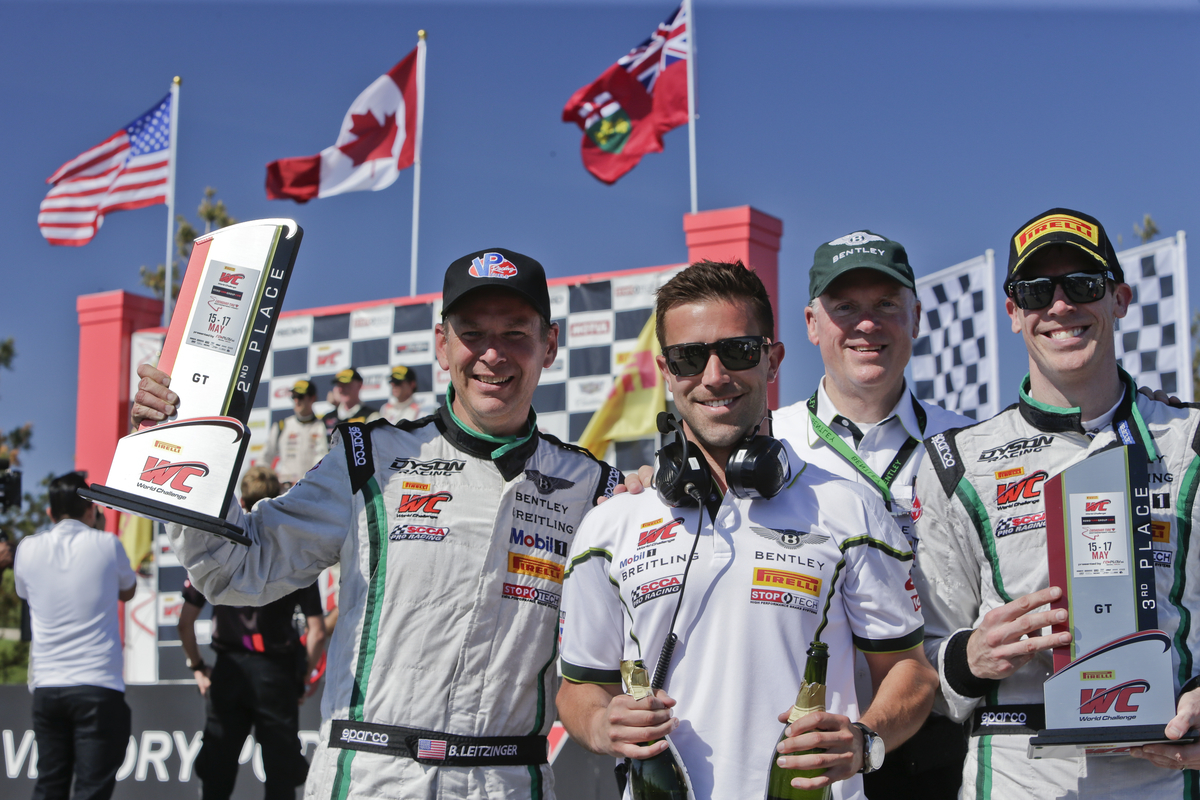 Big Bentley Weekend with Pirelli World Challenge podium finishes at Canadian Tire Motorsports Park
